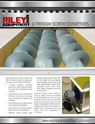 Screw Conveyors Literature
